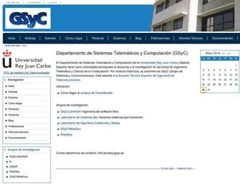 gsyc.escet.urjc.es screenshot