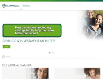 oldmutual.com.na screenshot