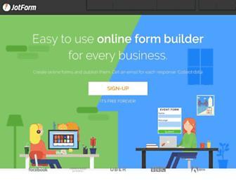 form.jotform.us screenshot