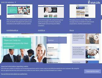 irishlifecorporatebusiness.ie screenshot