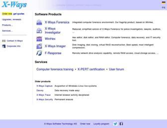 x-ways.net screenshot