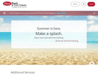 firstbank.com screenshot