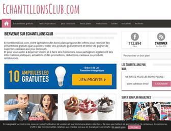 Thumbshot of Echantillonsclub.com