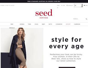 Thumbshot of Seedheritage.com