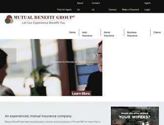 mutualbenefitgroup.com screenshot