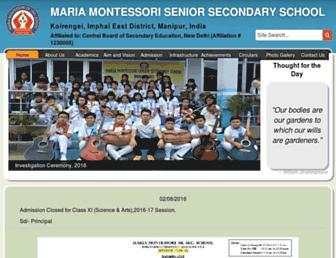 mariamanipur.org screenshot