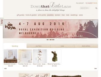 Thumbshot of Downthatlittlelane.com.au