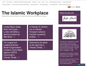 theislamicworkplace.com screenshot