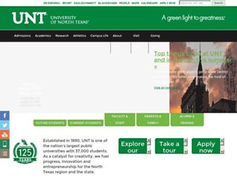 Thumbshot of Unt.edu