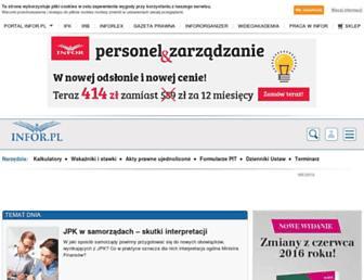 Thumbshot of Infor.pl
