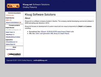kluug.net screenshot