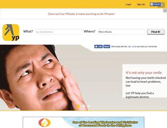 yellow-pages.ph screenshot