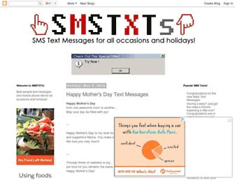 smstxts.blogspot.com screenshot