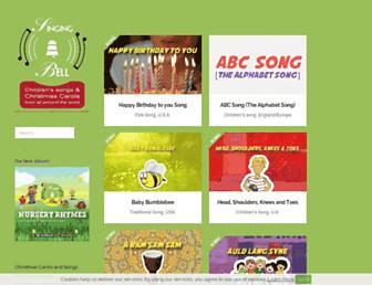 singing-bell.com screenshot