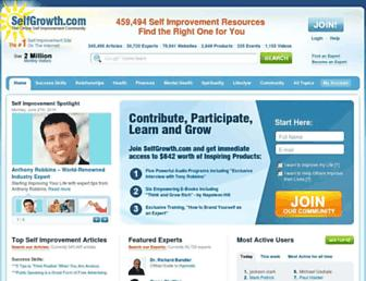 Thumbshot of Selfgrowth.com