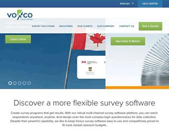 Thumbshot of Voxco.com