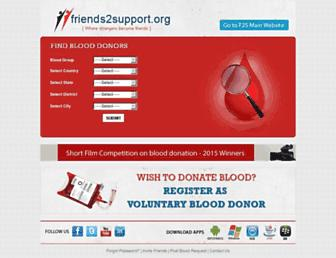 Thumbshot of Friends2support.org