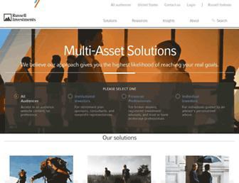russellinvestments.com screenshot