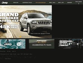 Screenshot for jeep.com.au
