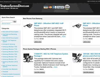 telephonesystemsdirect.com screenshot