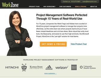 workzone.com screenshot