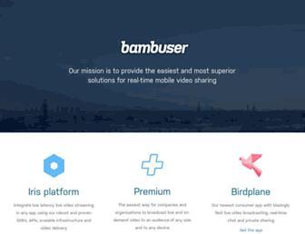 Thumbshot of Bambuser.com
