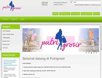 putrigrosir.com screenshot