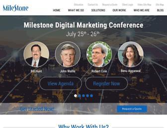 Thumbshot of Milestoneinternet.com