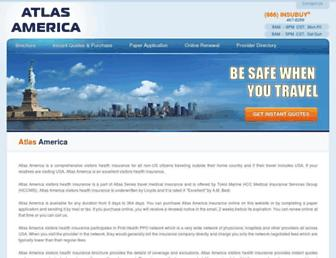 atlasamericainsurance.com screenshot
