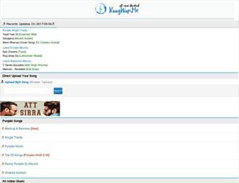 mp3hug.com screenshot