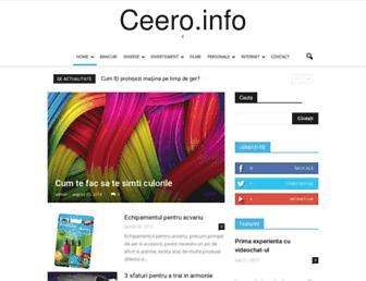 Thumbshot of Ceero.info