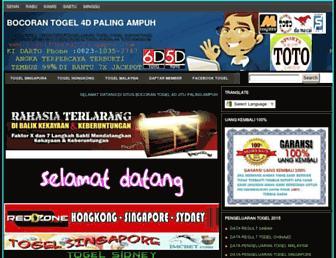 togel4dhksgp.blogspot.com screenshot