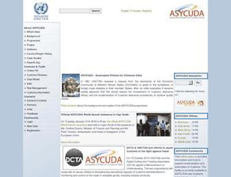 asycuda.org screenshot