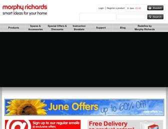 morphyrichards.co.uk screenshot