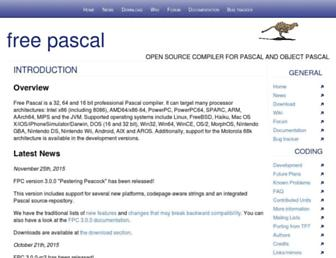 Thumbshot of Freepascal.org