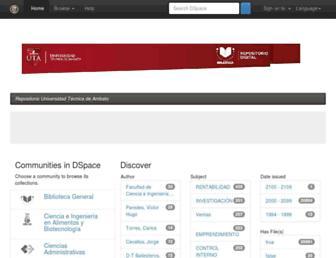 repositorio.uta.edu.ec screenshot