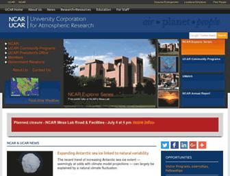 Thumbshot of Ucar.edu