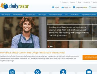 Thumbshot of Dailyrazor.com