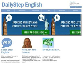 dailystep.com screenshot