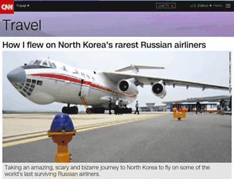 travel.cnn.com screenshot