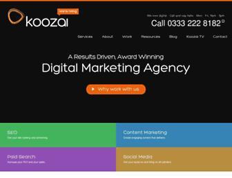 Thumbshot of Koozai.com