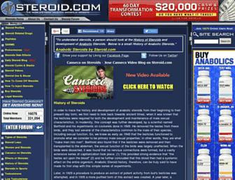 Thumbshot of Steroid.com