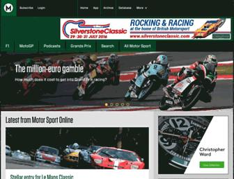 motorsportmagazine.com screenshot