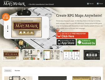 yeoldemapmaker.com screenshot