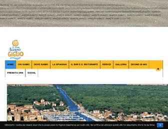 bagnogiglio.com screenshot