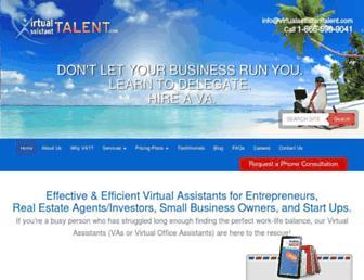 virtualassistanttalent.com screenshot