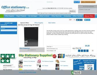 officestationery.co.uk screenshot