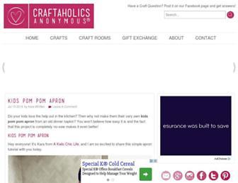 craftaholicsanonymous.net screenshot