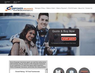 customers.empowerins.com screenshot