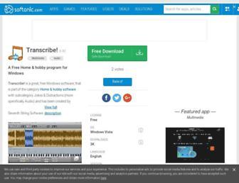 transcribe.en.softonic.com screenshot